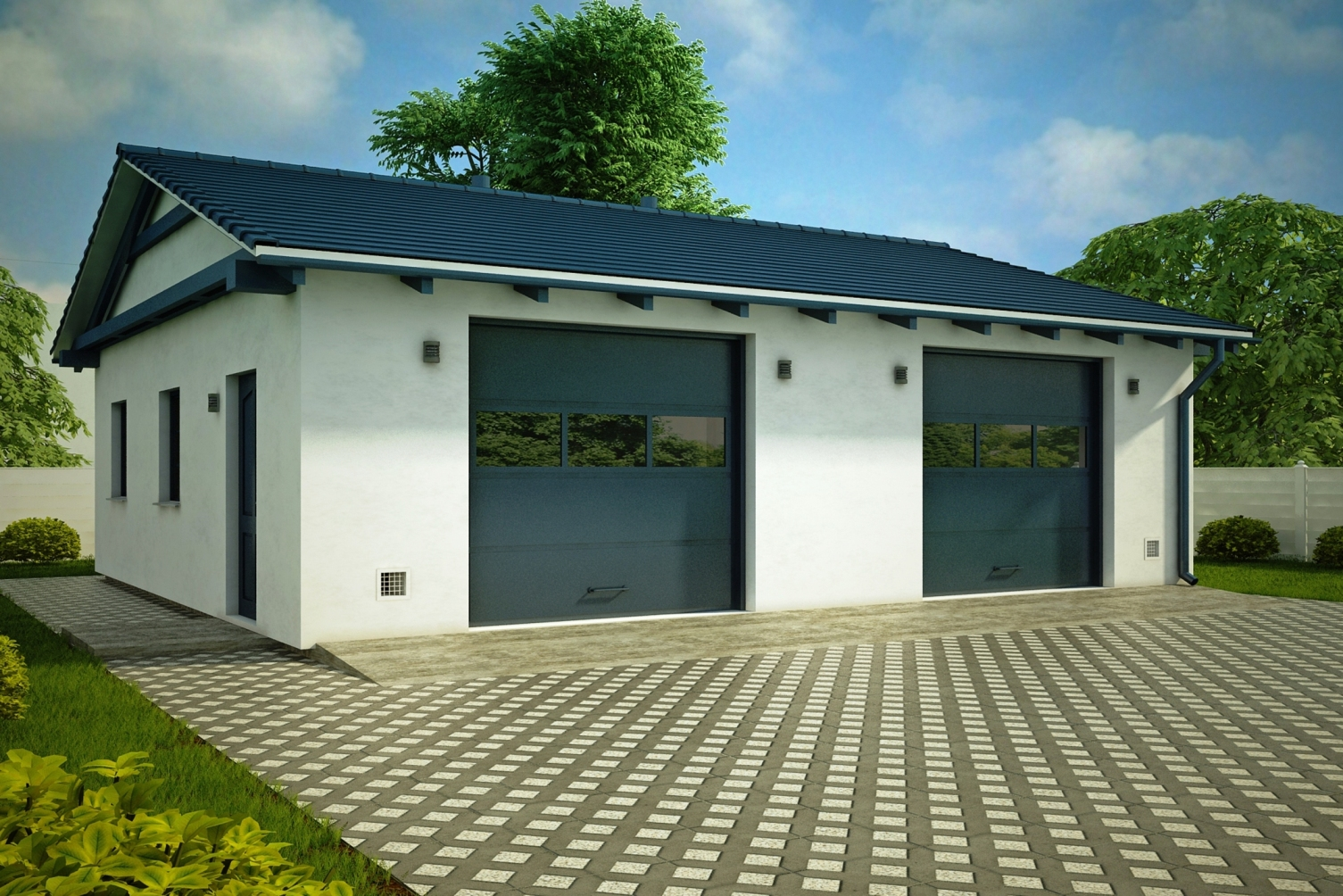 Строительство гаражей под ключ в Твери
